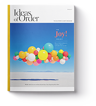 Ideas Of Order Front Cover